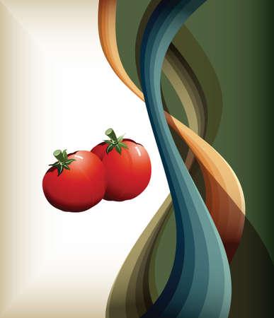 food vegetables Vector