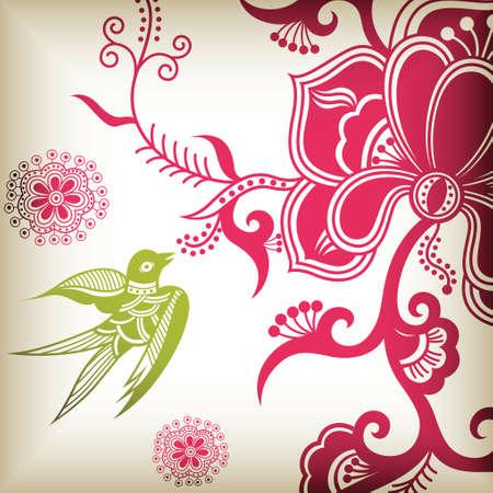 golondrinas: florales y tragar