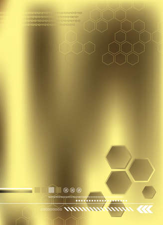 hexagon background: honeycomb Illustration