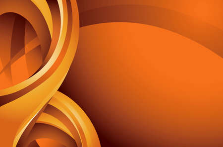 Abstract Curve Background Vector