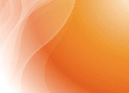 linee vettoriali: Abstract Orange Curva Contesto