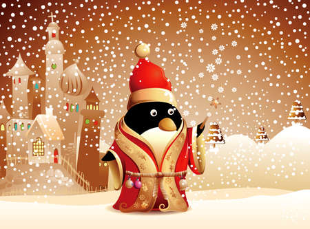 Christmas Cartoon Character  Vector