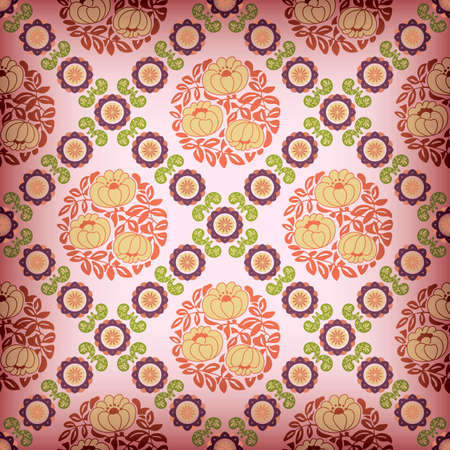 Abstract Floral Pattern SEAMLESS 6