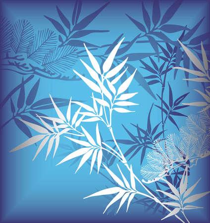 silver texture: Bamboo 1