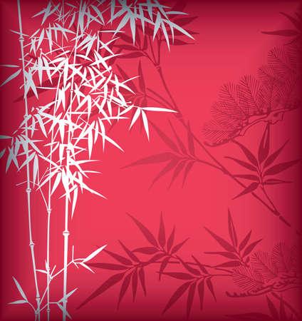 Bamboo 4 Vector