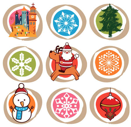 Christmas Design Elements Stock Vector - 5825582