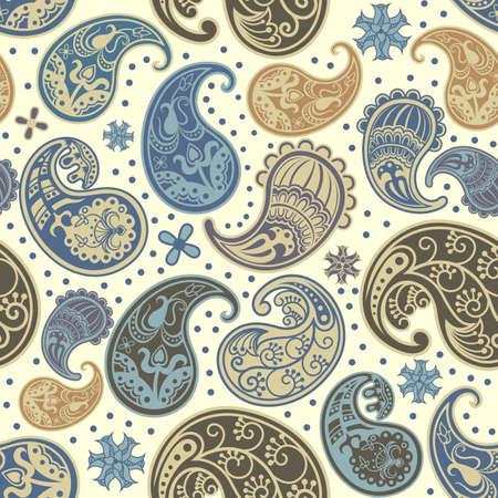 paisley pattern: Paisley Pattern SEAMLESS Illustration