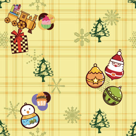 Christmas Pattern SEAMLESS Vector