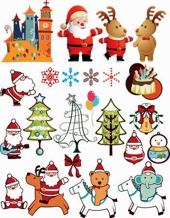 Christmas Design Elements 2 Stock Vector - 5910608