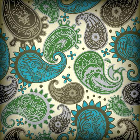 paisley pattern: Paisley Pattern Illustration