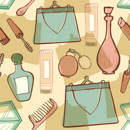 decorative accessories: Cosmetic and woman accessories