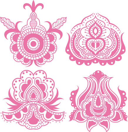 Abstract Floral Design Elements 7 Stock Vector - 6386677
