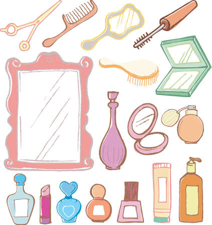 cosmetic Stock Vector - 6492830