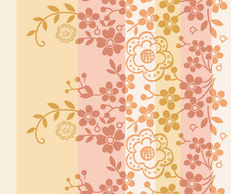 Oriental Floral Pattern SEAMLESS