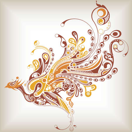 bird: 추상 새