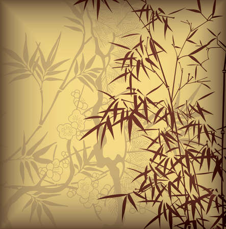 bamboo leaf: Bamboo Leaf Illustration