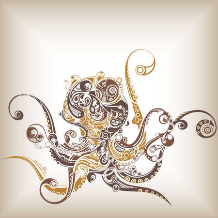 octopus: Pulpo Vectores