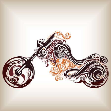Motorbike Stock Vector - 6811782