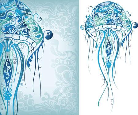 Jellyfish Stock Vector - 7044089