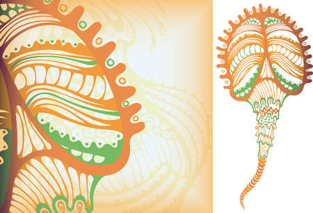 microorganism: Sea Life Microorganism 3 Illustration