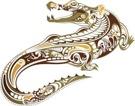 jacar�: Crocodilo