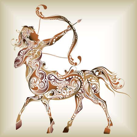 signes du zodiaque: 12 Constellations-------Sagittaire