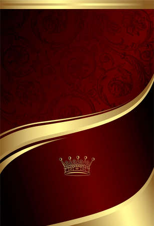 Classic Royal Design Background 4 Stock Vector - 8093246