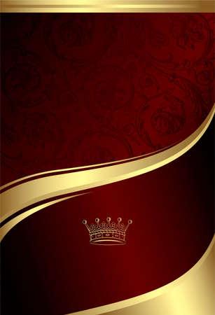 Klassieke Royal Design achtergrond 4