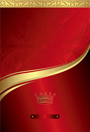 Classic Royal Design Background 2 Stock Vector - 8093239