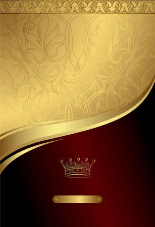 Classic Royal Design Background 3 Stock Vector - 8093237