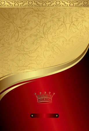 Classic Royal Design Background 1 Vector