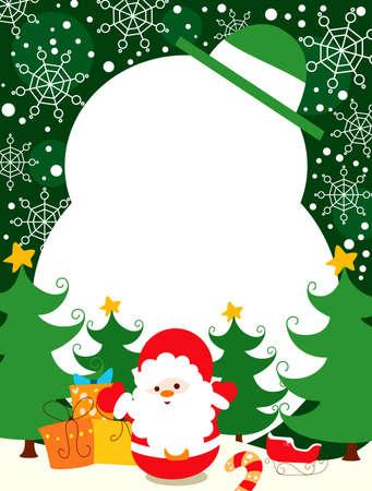 Christmas Card Stock Vector - 8136259