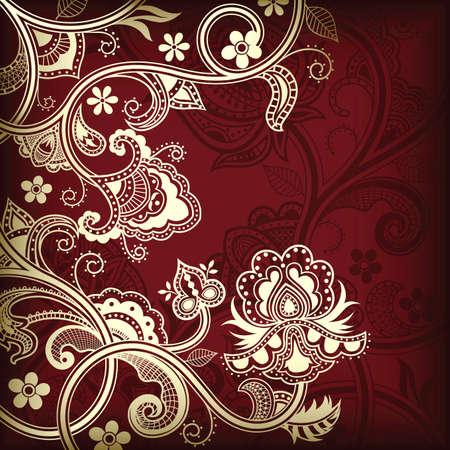 Elegant Floral Background Stock Vector - 8426078