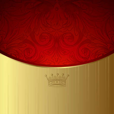 Royal Design Background Stock Vector - 8470279