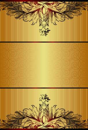 Elegant Floral Background Stock Vector - 8517844