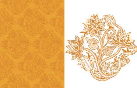 elegance: Seamless Floral Pattern 6