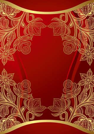 Red Menu Vector