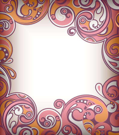 Abstract Scroll Frame Stock Vector - 9158545