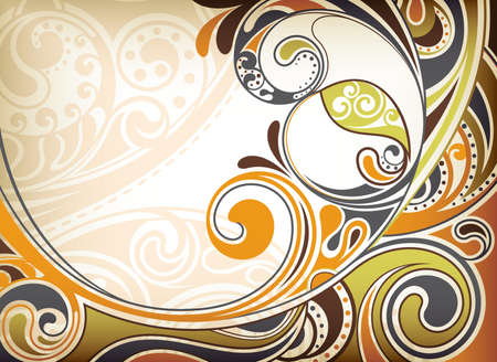 Abstract Sandy Curve Stock Vector - 9184326