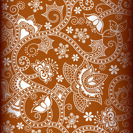 orientalische muster: Seamless Floral Pattern 1
