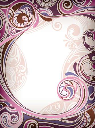 sur: Abstract Purple Curve Illustration