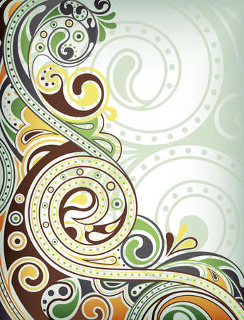 Abstract Swirl Background Stock Vector - 9411919