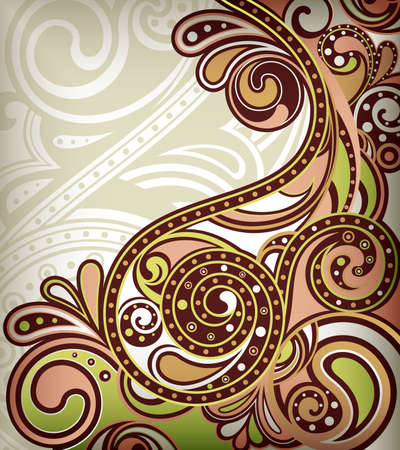 Abstract Scroll Stock Vector - 9411914