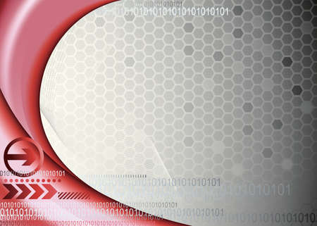 honeycombed: Abstract Technology Background