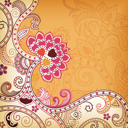 Abstract Blossom Vector