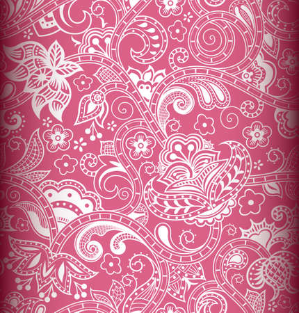 indian pattern: Seamless Floral Pattern 3