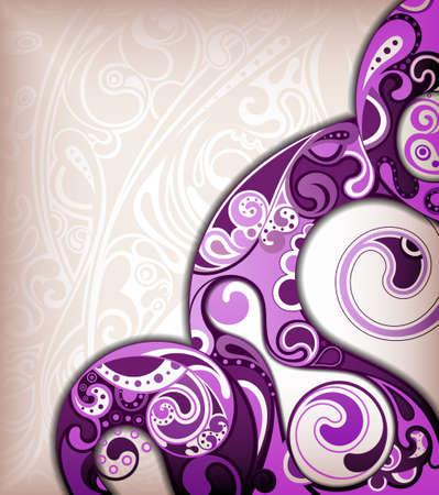 purple swirl: Abstract Purple Background