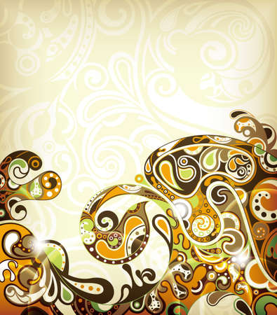 Abstract Sandy Background Vector