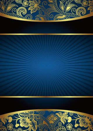Fondo azul abstracto Foto de archivo - 12496794