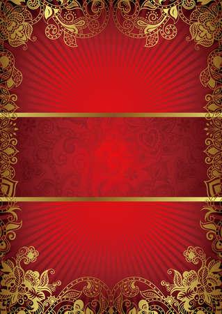 Abstract Book Cover Stock Vector - 12496789